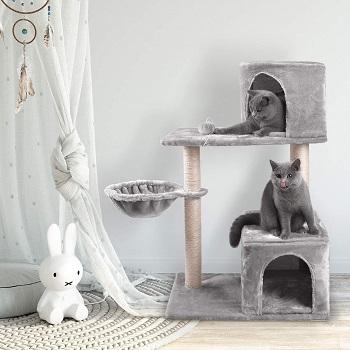 Js Nova Juns Two-Cat Tree Tower Review