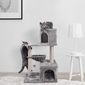 Js Nova Juns Two-Cat Tree Tower