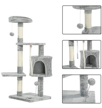 Mellcom Cheap Tree Cat Condo Large Cats