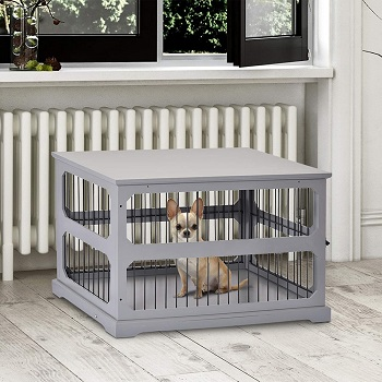 PawHut Decorative Dog Cage