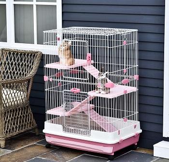 Pawhut 57 Bunny Cage