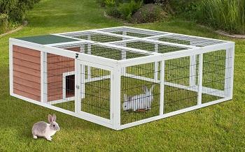 Pawhut 64 Rabbit Enclosure