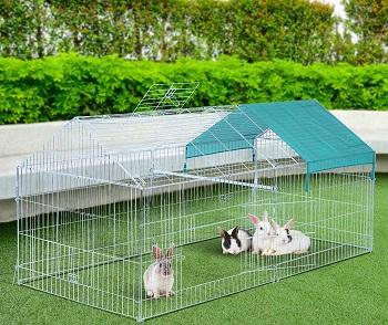 Pawhut 87 Bunny Cage