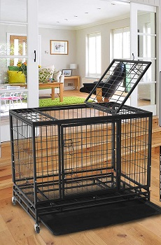 Polar Aurora Pet Dog Cage Review