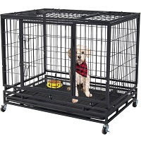 Polar Aurora Pet Dog Cage Summary