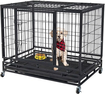 Polar Aurora Pet Dog Cage