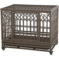 SMONTER Heavy Duty Dog Crate Summary