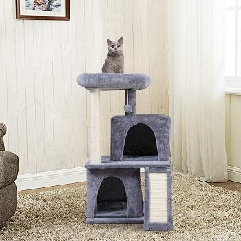 Sandinrayli Cat Tower 2 Cats Review