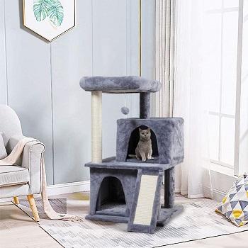 Sandinrayli Cat Tower 2 Cats