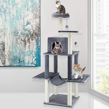 Scratch Me Cat Tower With Scratching Post