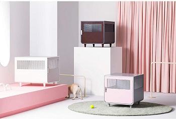 Staart Radius Wooden Dog Crate