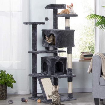 Topeakmart Cat Tree Tower With Ramp Review