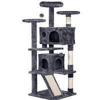 Topeakmart Cat Tree Tower With Ramp Summary