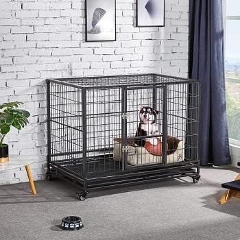 YAHEETECH Metal Dog Cage