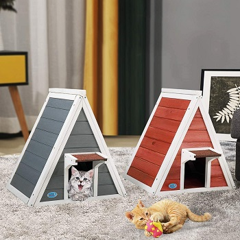 best modern cat tree house outdoor