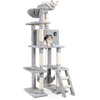 best tall cat tree with hammock for large cats summary
