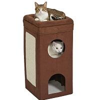 BEST 3-LEVEL CAT SCRATCHER CONDO summary