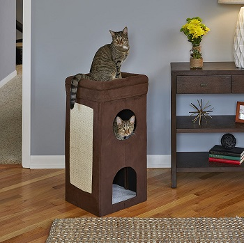 BEST 3-LEVEL CAT SCRATCHER