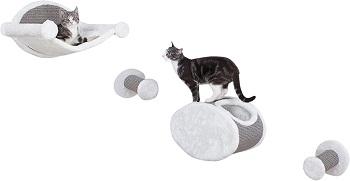 BEST CARPETED CAT CLIMBING SHELVES
