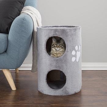 BEST CAT SCRATCHER CONDO ALL CATS