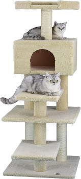 BEST CHEAP CARPETED CAT TREE