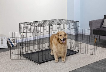 BEST CHEAP COLLAPSE METAL DOG CRATE