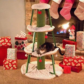 BEST CHRISTMAS CAT BED TREE