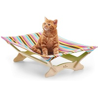BEST COLORFUL HANGING CAT BED WITH STAND summary