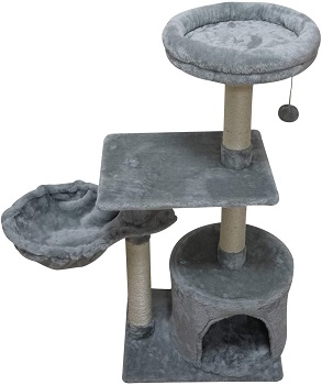 BEST CONDO CAT TOWER FOR FAT CATS