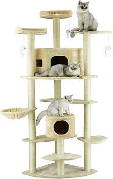 BEST CORNER ADULT CAT TOWER