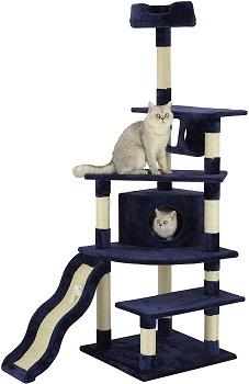 BEST CORNER BLUE CAT TREE