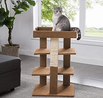 BEST CORNER CARPETED CAT TREE