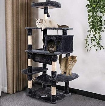 BEST CORNER CAT TREEHOUSE