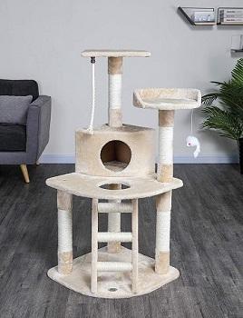 BEST CORNER LUXURY CAT TREE CONDO HOUSE