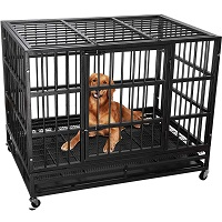 BEST CORNER STRONG METAL DOG CRATE Summary