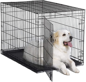 BEST EXTRA LARGE FOLDABLE METAL DOG CRATE