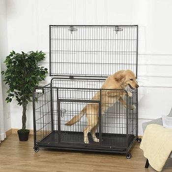 BEST FOLDING LARGE HEAVY DUTY DOG KENNEL