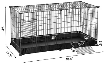 BEST FOR BUNNIES MULTIPLE RABBIT CAGE