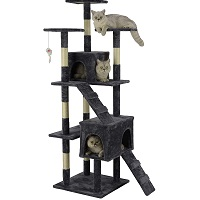 BEST FOR LARGE CATS BEAUTIFUL CAT TREE summary