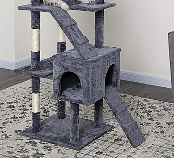 BEST FOR LARGE CATS BEAUTIFUL CAT TREE