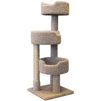 BEST FOR LARGE CATS CARPETED CAT TREE summary