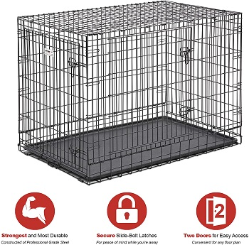BEST FOR PUPPIES DOG CAGE FOR ROTTWEILER