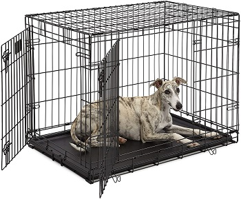 BEST FOR PUPPIES EXPANDABLE CRATE FOR DOGS