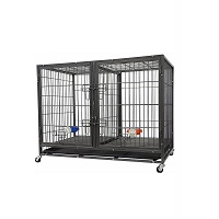BEST FOR PUPPIES METAL HEAVY DUTY DOG CRATE Summary