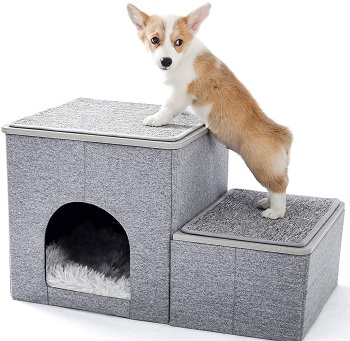 BEST FOR TRAVEL UNDER STAIRS DOG CAGE