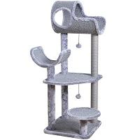 BEST FUN CAT TOWER GREY summary