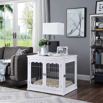 BEST FURNITURE STYLE DOG SLEEPING CRATE
