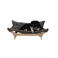 BEST GRAY HANGING CAT BED WITH STAND summary