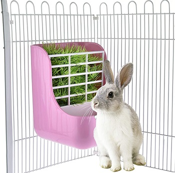 BEST HAY RACK RABBIT CAGE ACCESSORIES
