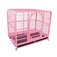 BEST HEAVY DUTY LARGE PINK DOG CRATE Summary